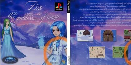 Zia & the Goddesses of Magic (EU, Eng, Fr, De Ger) - Download buy ISO ROM (Bin Cue PS1 PSX) | EmuGun.Com