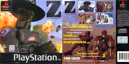 Z: The Bitmap Brothers (PAL EU, Eng, Fr, Ger) - Download buy ISO ROM (Bin Cue PS1 PSX) | EmuGun.Com