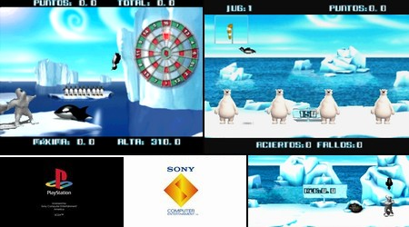 Yetisports Deluxe (PAL EU Eng Fr Ger Ital Spa) - Download ISO ROM (Bin Cue PS1 PSX) | EmuGun.Com