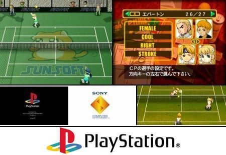 Yeh Yeh Tennis (PAL EU Eng Fr Ger) - Download ISO ROM (Bin Cue PS1 PSX) | EmuGun.Com
