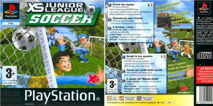 XS Junior League Soccer (NTSC-U PAL EU Eng Fr Ger Ital Spa) - Download ISO ROM (Bin Cue PS1 PSX)