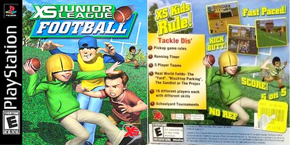 XS Junior League Football (NTSC-U Eng) - Download ISO ROM (Bin Cue PS1 PSX)