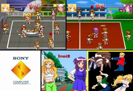XS Junior League Dodgeball (NTSC-U Eng Jap) - Download ISO ROM (Bin Cue PS1 PSX)