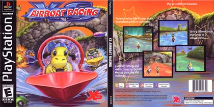XS Airboat Racing (NTSC-U PAL EU Eng Fr Ger Ital Spa) - Download ISO ROM (Bin Cue PS1 PSX)