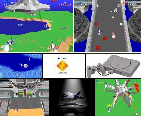Xevious 3D/G+ (NTSC-U PAL EU Eng Jap) - Download ISO ROM (Bin Cue PS1 PSX)