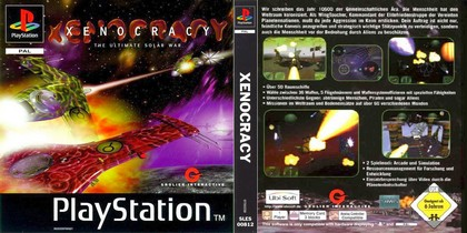 Xenocracy: The Ultimate Solar War (PAL EU Eng Fr Ger Spa Ita) - Download ISO ROM (Bin Cue PS1 PSX)