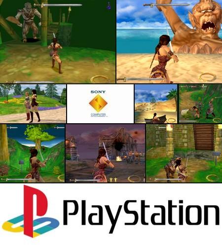 Xena: Warrior Princess (NTSC-U PAL EU Eng Fr Ger Spa) - Download ISO ROM (Bin Cue PS1 PSX)