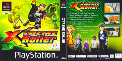 X'treme Roller (PAL EU Eng Fr Ger Spa Ita Por) - Download ISO ROM (Bin Cue PS1 PSX)