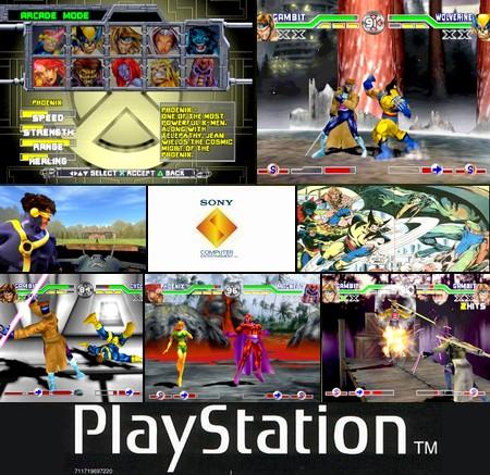 X-Men: Mutant Academy (NTSC-J USA PAL EU Eng Ger Jap) - Download ISO ROM (Bin Cue PS1 PSX)