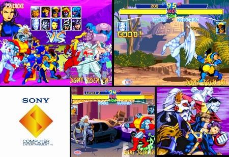 X-Men: Children of the Atom (NTSC-U PAL EU Eng) - Download ISO ROM (Bin Cue PS1 PSX)
