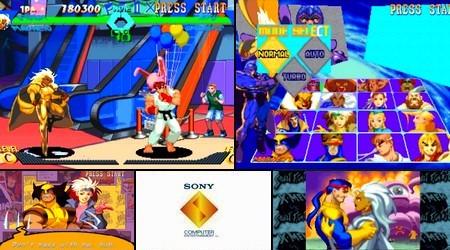 X-Men vs. Street Fighter EX Edition (J) - Download ISO ROM (Bin Cue PS1 PSX)