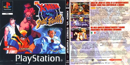 X-Men vs. Street Fighter (NTSC-U PAL EU Eng Jap) - Download ISO