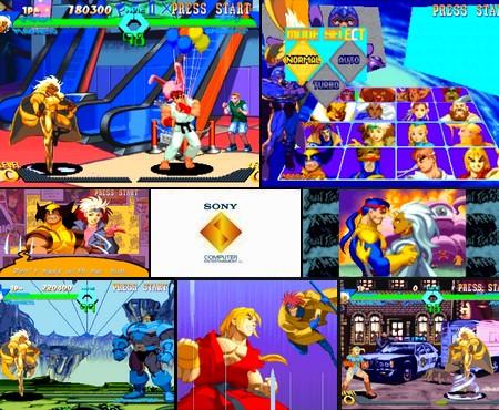 X-Men vs. Street Fighter (NTSC-U PAL EU Eng Jap) - Download ISO ROM (Bin Cue PS1 PSX)
