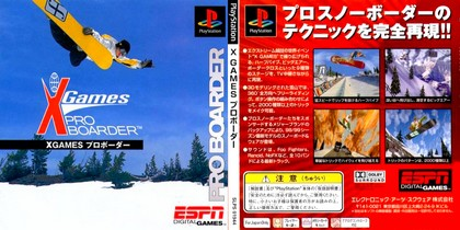 X-Games Pro Boarder (NTSC-J PAL EU Eng Jap Fr Ger Ita Spa Swe Nor) - Download ISO
