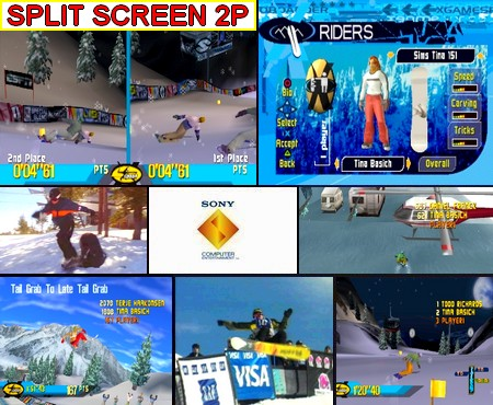 X-Games Pro Boarder (NTSC-J PAL EU Eng Jap Fr Ger Ita Spa Swe Nor) - Download ISO ROM (Bin Cue PS1 PSX)