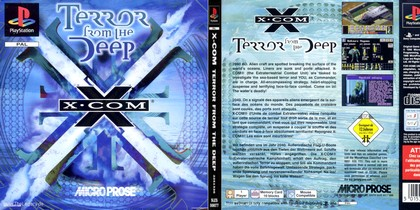 X-COM: Terror from the Deep (PAL EU Eng Fr Ger Ita Spa) - Download ISO ROM (Bin Cue PS1 PSX)