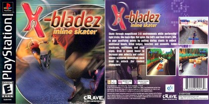 X-Bladez: Inline Skater (NTSC-U US PAL EU Eng) - Download ISO ROM (Bin Cue PS1 PSX)