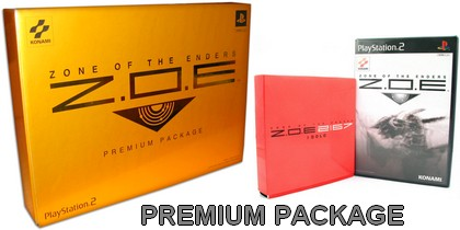 Z O E : Zone of the Enders Premium Package (J) - Download