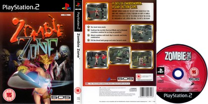 Zombie Zone 1 (PAL EU Eng) - Download ISO ROM Bin Cue (PS2)