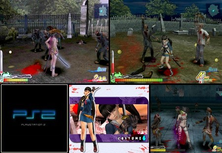 Zombie Zone - Other Side (PAL EU Eng) - Download ISO ROM Bin Cue (PS2) | EmuGun.Com