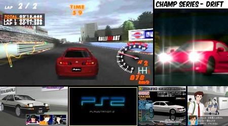 Zero 4 Champ Series: Drift Champ (J) - Download ISO ROM (PS2)   EmuGun.Com