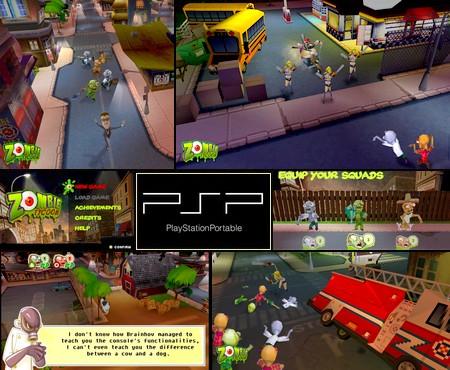 Zombie Tycoon (NTSC-U PAL EU Eng Fr) - Download ISO ROM (PSP)
