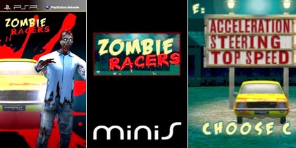 Zombie Racers (NTSC-U US PAL EU Eng) - Download ISO