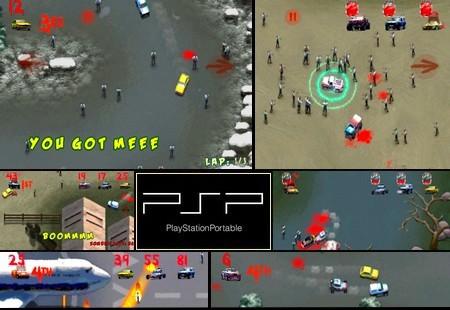 Zombie Racers (NTSC-U US PAL EU Eng) - Download ISO ROM (PSP)