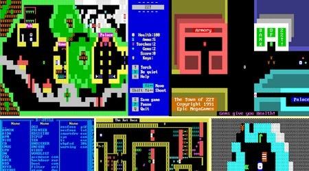 ZZT (Eng) (1991) - Download ISO ROM IMG (DOS IBM PC) | EmuGun.Com