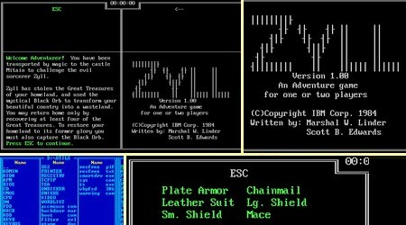 Zyll (Eng) (1984) - Download ISO ROM IMG (DOS IBM PC) | EmuGun.Com