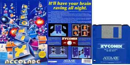 Zyconix (Eng Fr Ger) (1992) - Download ISO ROM IMG (DOS IBM PC) | EmuGun.Com