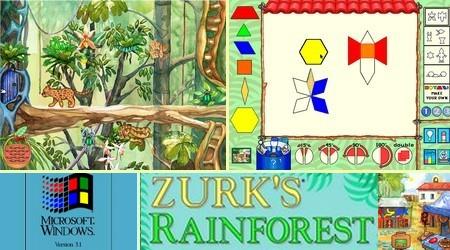 Zurk's Rainforest Lab (Eng Fr Spa)(1995) - Download ISO ROM IMG (PC / Win 3.1) | EmuGun.Com