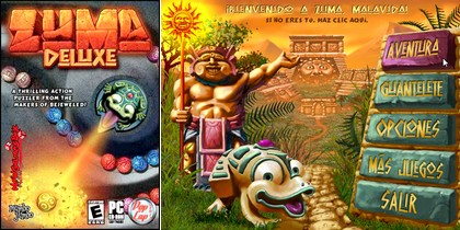 Zuma Deluxe (Eng) (2006) - Download ISO (PC)