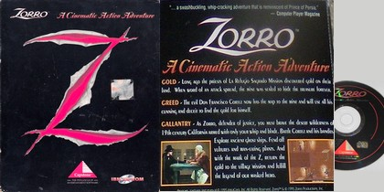 Zorro: A Cinematic Action Adventure (Eng) - Download ISO (DOS)