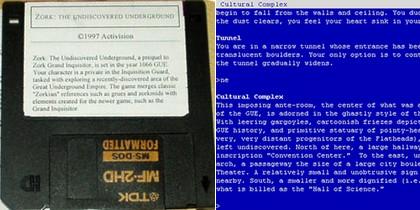 Zork: The Undiscovered Underground (Eng) (1997) - Download ISO ROM IMG (PC) | EmuGun.Com