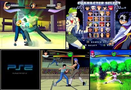 Yu Yu Hakusho: Dark Tournament (NTSC-U US EU PAL Eng Fr Ger De Spa Es Ita) - Download ISO ROM (PS2) | EmuGun.Com
