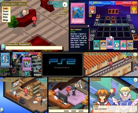 Yu-Gi-Oh! GX: Tag Force Evolution (PAL EU, AU Eng Fr Ger De Spa Es Ita) - Download ISO ROM (PS2) | EmuGun.Com