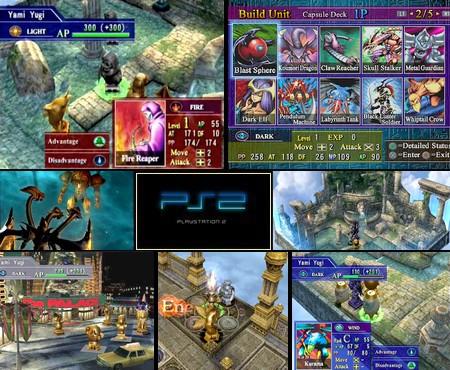 Yu-Gi-Oh! Capsule Monster Colisée (PAL Fr) - Download ISO ROM (PS2)   EmuGun.Com
