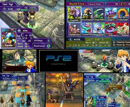 Yu-Gi-Oh! Capsule Monster Coliseum (NTSC-J U US PAL EU Eng Spa Es Ita Ger De Fr) - Download ISO ROM (PS2) | EmuGun.Com