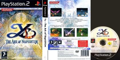 Ys: The Ark of Napishtim (PAL EU NTSC-U US Jap Eng Ger De Fr Spa Es Ita Kor) - Download ISO ROM (PS2) | EmuGun.Com