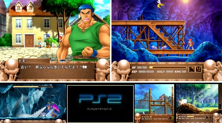 Ys III: Wanderers from Ys (Limited Edition) (J) - Download ISO ROM (PS2) | EmuGun.Com