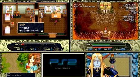 Ys I & II: Eternal Story (J) - Download ISO ROM (PS2) | EmuGun.Com