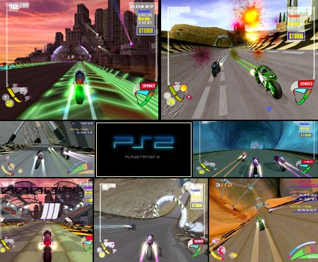 XGIII: Extreme G Racing (NTSC-U US PAL EU Jap Eng Fr Ger De Spa Es) - Download ISO ROM (PS2) | EmuGun.Com