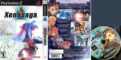 Xenosaga Episode I: Der Wille zur Macht (NTSC-U US Eng Jap) - Download ISO