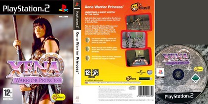 Xena Warrior Princess (PAL EU Eng Fr De Es Nl It Sv Da Fi Su Nor Por) - Download ISO