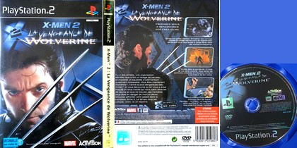 X-Men 2: La Vengeance de Wolverine (PAL EU French) - Download ISO