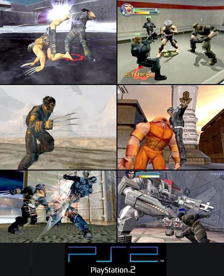X-Men 2: La Vengeance de Wolverine (PAL EU French) - Download ISO ROM (PS2) | EmuGun.Com