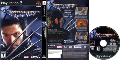 X2: Wolverine's Revenge (NTSC-U US Eng) - Download ISO ROM (PS2) | EmuGun.Com