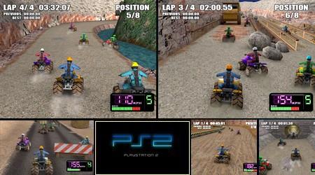X-treme Quads (PAL EU Eng) - Download ISO ROM (PS2)   EmuGun.Com
