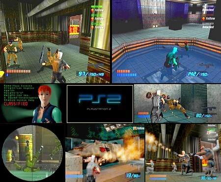 X-Squad (NTSC-U US PAL EU Eng) - Download ISO ROM (PS2)   EmuGun.Com